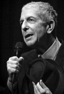 Leonard Cohen Music Shabbat Program