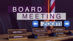 Board Meeting @ via Zoom