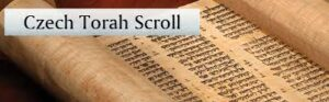 Shabbat Program - CHJ's Czech Memorial Torah – Part 2 @ Zoom